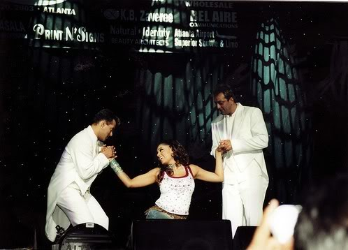Mega Star Mania 2003 with Salman Khan, Sanjay Dutt and Bipasha Basu. Show coordinated, scripted and directed by Jordy Patel. #JAevents #love <br>http://pic.twitter.com/fq1RujTnmm
