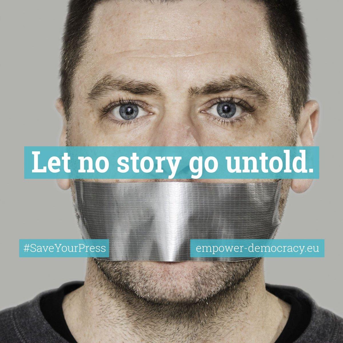 Less media means less variety of opinions #SaveYourPress #copyright  http://www. empower-democracy.eu  &nbsp;   @Aikakausmedia @SvTidskrifter<br>http://pic.twitter.com/7A45WICTu0