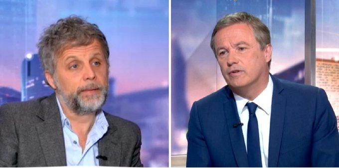 VIDÉO - Propos contre sa mère décédée : Nicolas Dupont-Aignan va 'porter plainte contre Stéphane Guillon' 👉https://t.co/Nf94mMeRRL