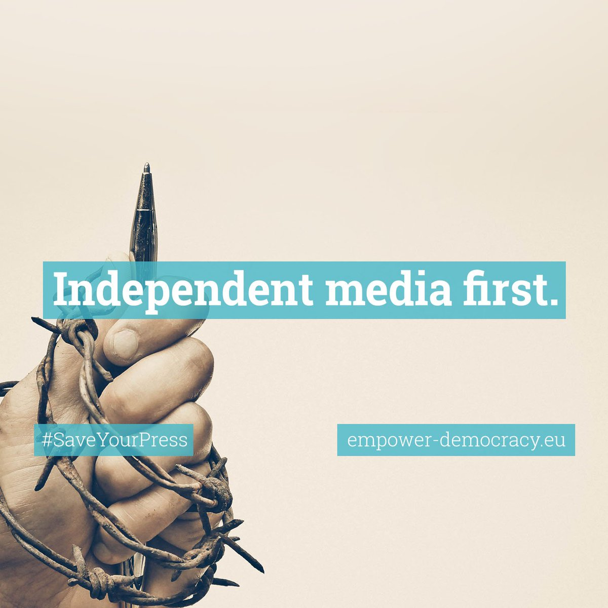 #SaveYourPress to keep the news coming! #copyright  http://www. empower-democracy.eu  &nbsp;   @RELXGroupHQ @ringier_ag<br>http://pic.twitter.com/tgqaBF9bhG