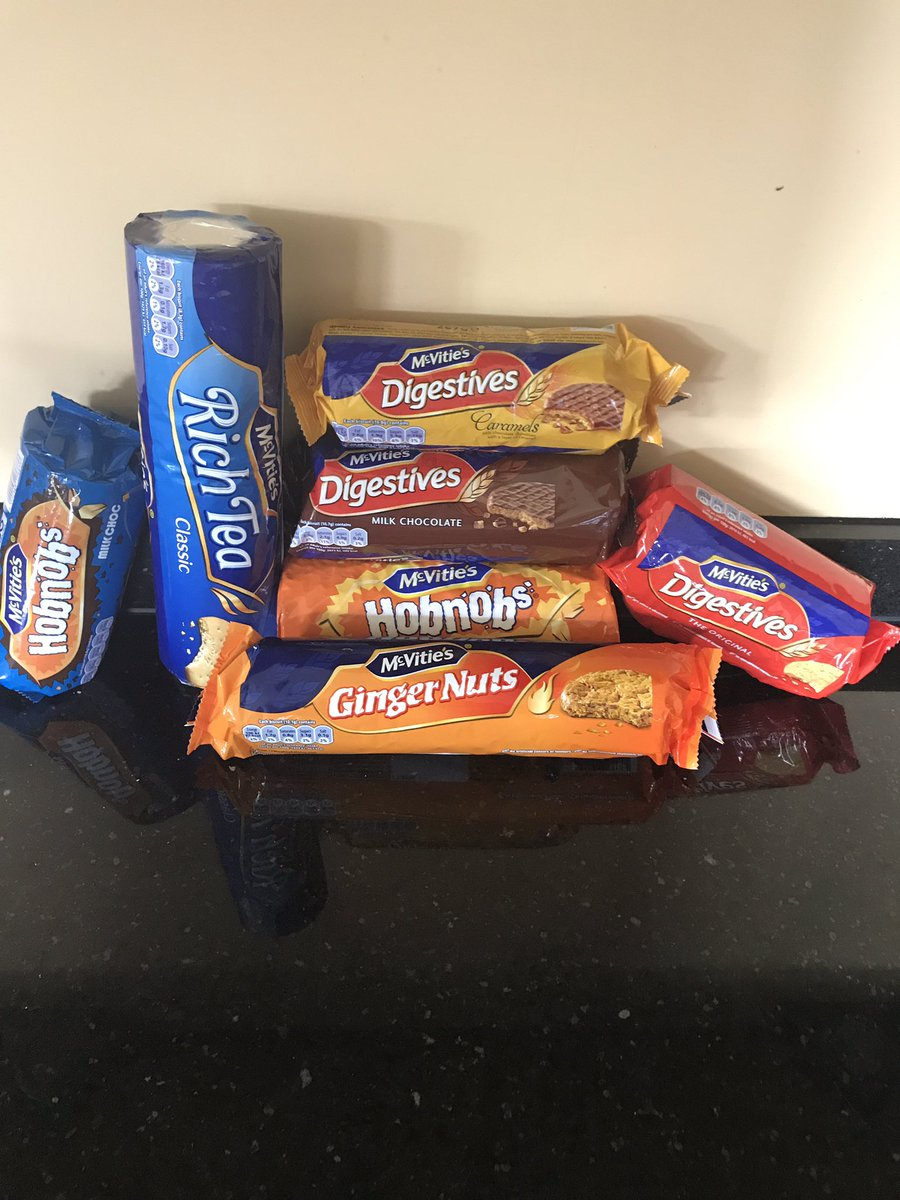 Big thanks to @McVities for making my #NationalBiscuitDay that little...