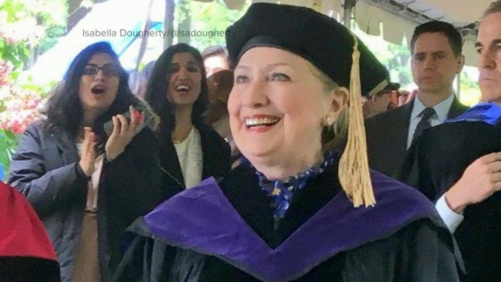 WATCH:  Hillary Clinton speaks to #graduating students at her #alma #mater  http:// abcn.ws/2qtqb3u  &nbsp;  <br>http://pic.twitter.com/3nMkNpNmlQ