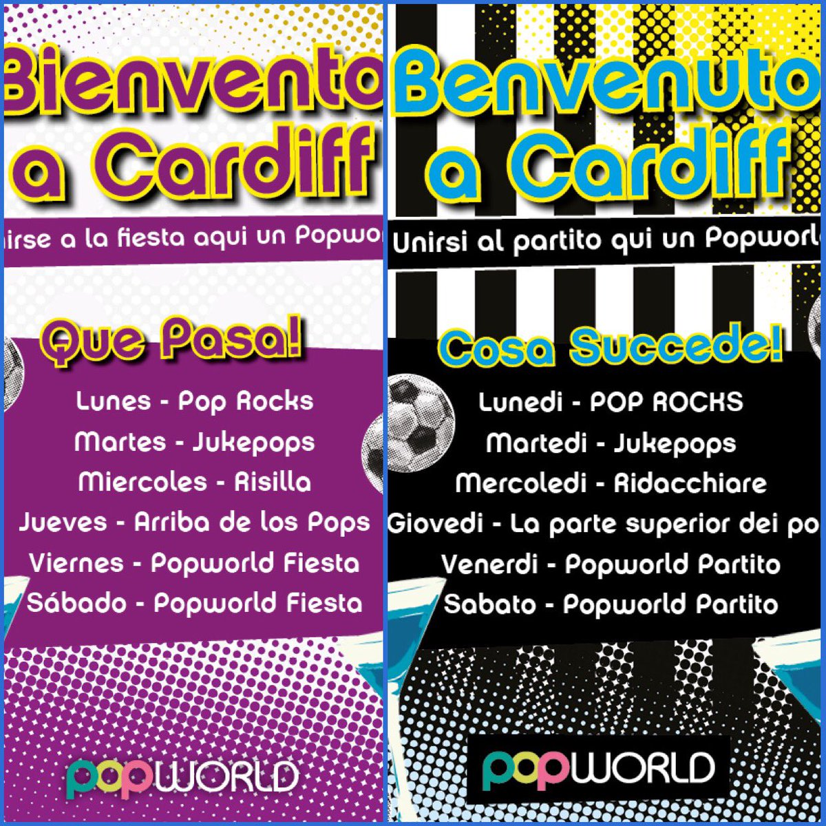 Next week the champions league comes to Cardiff. We have lots lined up for you so join the party  #realmadrid #juventusFC #cardiff2017<br>http://pic.twitter.com/zRLI82NHUN