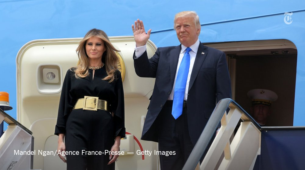 Our critic @VVFriedman analyzes Melania Trump's overseas fashion choices https://t.co/Msd7movyjj https://t.co/akPfT2Ad6Q