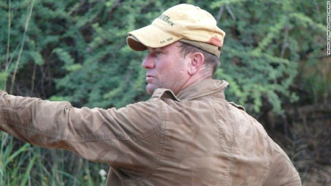 A big game hunter was crushed to death after an elephant, that his friends had shot, collapsed on top of him https://t.co/snPgwvaSvF