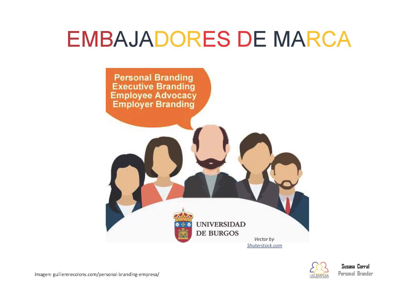 Embajadores de Marca + Marca personal