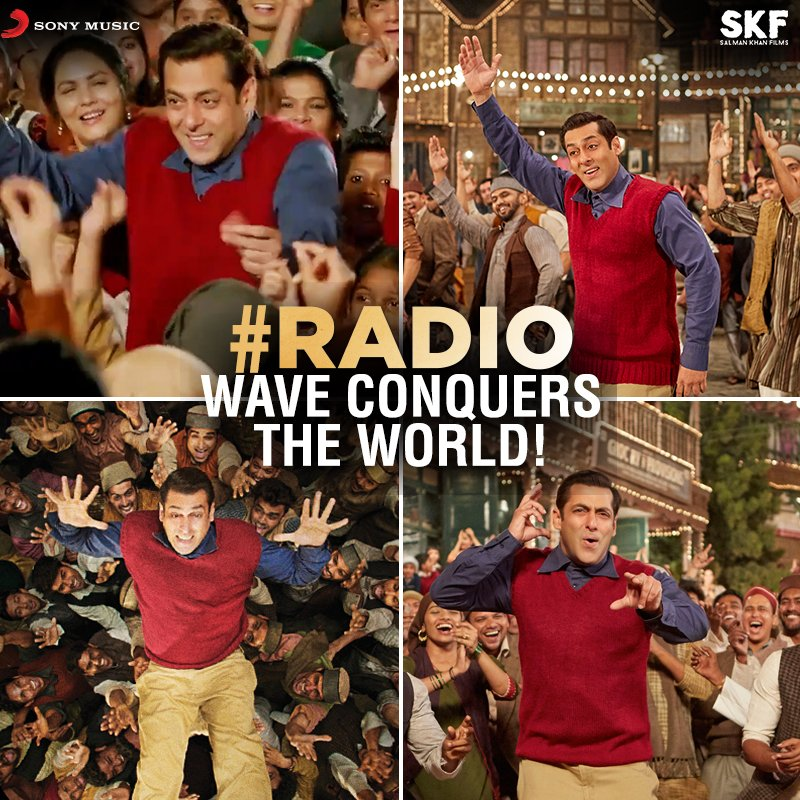 The world is listening to #Radio ! Have you tuned in yet?  http:// bit.ly/Radio_Song  &nbsp;    @BeingSalmanKhan @SKFilmsOfficial @TubelightKiEid<br>http://pic.twitter.com/IfuXIR3qi1
