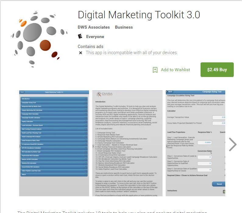 #mobilemarketing - 18 tools to plan &amp; analyze your digital marketing programs on your android tablets &amp; phones  https:// goo.gl/9eklRC  &nbsp;  <br>http://pic.twitter.com/8m2BPlvRv6