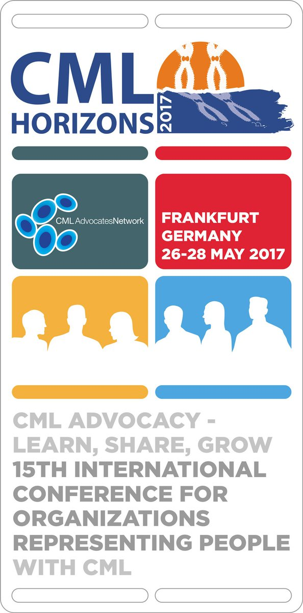 Good morning #CMLHZ17 #cml #patient #advocates Ready to #LearnShareGrow today in #Frankfurt? #TFR #Access to #treatments, #pregnancy <br>http://pic.twitter.com/YAnyKxjJqy