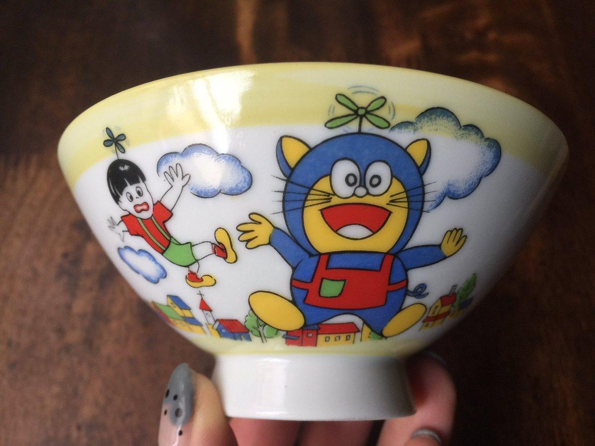 友人が入手してくれたドラえもんの茶碗が極上の品物すぎて、いくら眺めていても飽きない。いい仕事だ。