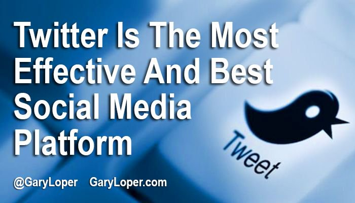 Why Twitter? Find Out Why.  http:// bit.ly/2rrtGZV  &nbsp;   @GaryLoper #smallbusiness #sales #leadership<br>http://pic.twitter.com/wDpDMe5IJ9