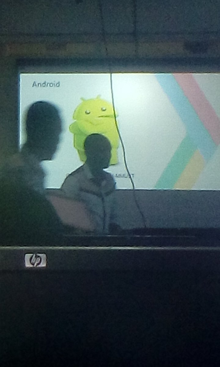 Android mhh #gdg_mmust #io17mmust #google we doing the cool things that matters <br>http://pic.twitter.com/adqvQZcQV2