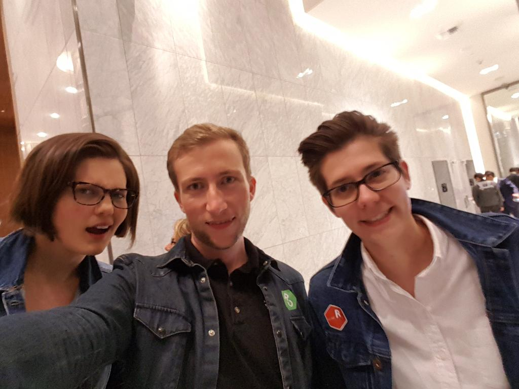 A Tripple Denim Event #runconf17 @hfcfrick @SamTyner https://t.co/z1ollIy7Jo