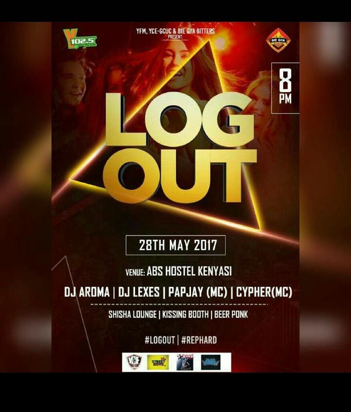 #LogOut with @BiegyaBitters powered by @y1025fm #Easy to rep  difficult to miss  <br>http://pic.twitter.com/PeEQLCXeS2