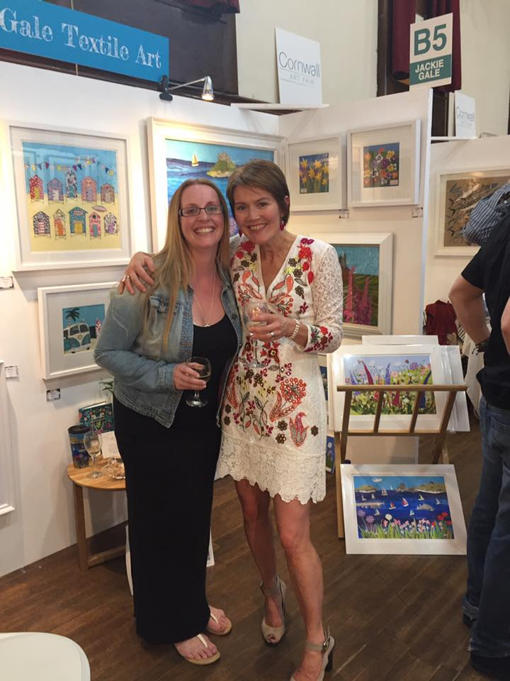 After a lovely inauguration day, we are open for our second day! Don&#39;t miss the premier art fair in St.Ives! #support #cornishartists<br>http://pic.twitter.com/L9GQRUSyg3