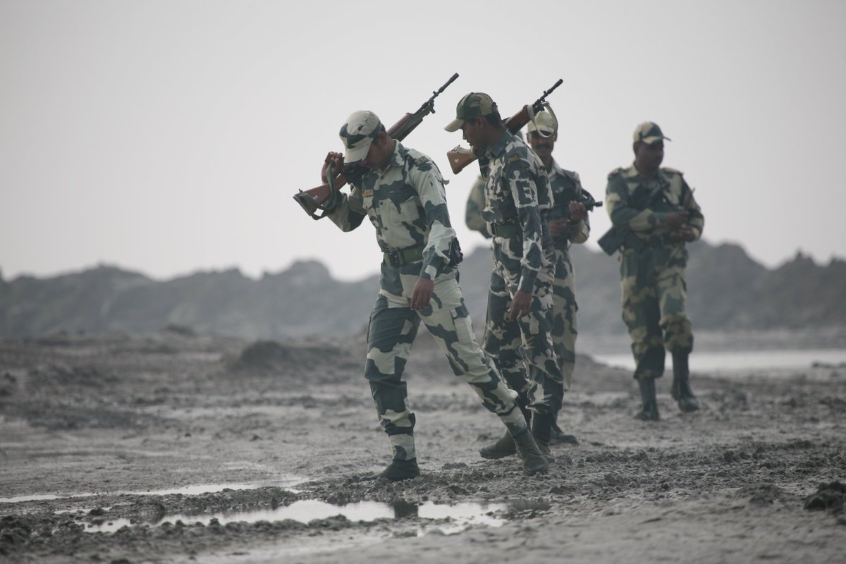 BSF finds cartridges of AK 47, SLR, INSAS buried near Pakistan border in Kutch