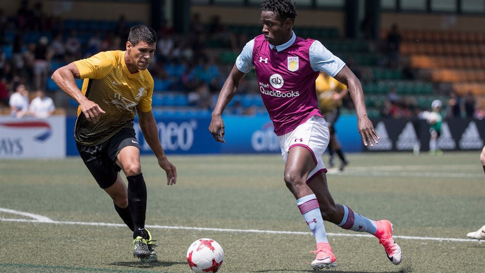 Congratulations to the lads at @hksoccer7s who finished top of group c after day one in Hong Kong #avfc <br>http://pic.twitter.com/4tCRLEkEFI