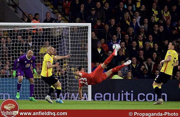 Emre Can    #LFC fans&#39; goal of the season    @carling goal of the season    #MNF goal of the season    MOTD goal of the season <br>http://pic.twitter.com/G29njm6hHq