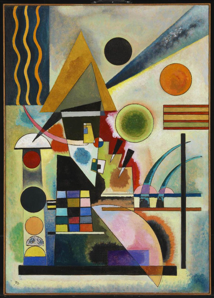 By Wassily Kandinsky (1866–1944) #Painting #art #ArtLovers<br>http://pic.twitter.com/HTQjW1hfSu
