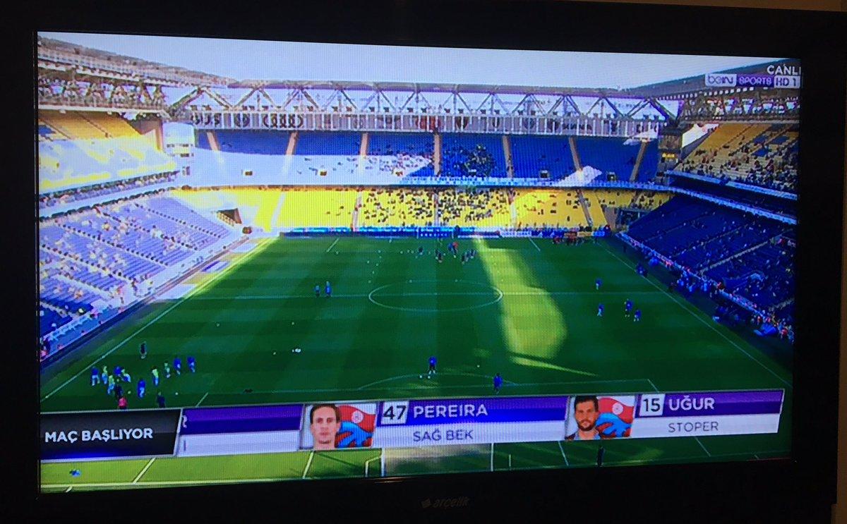Saat 18:30.. Fenerbahçe - Trabzonspor ma...