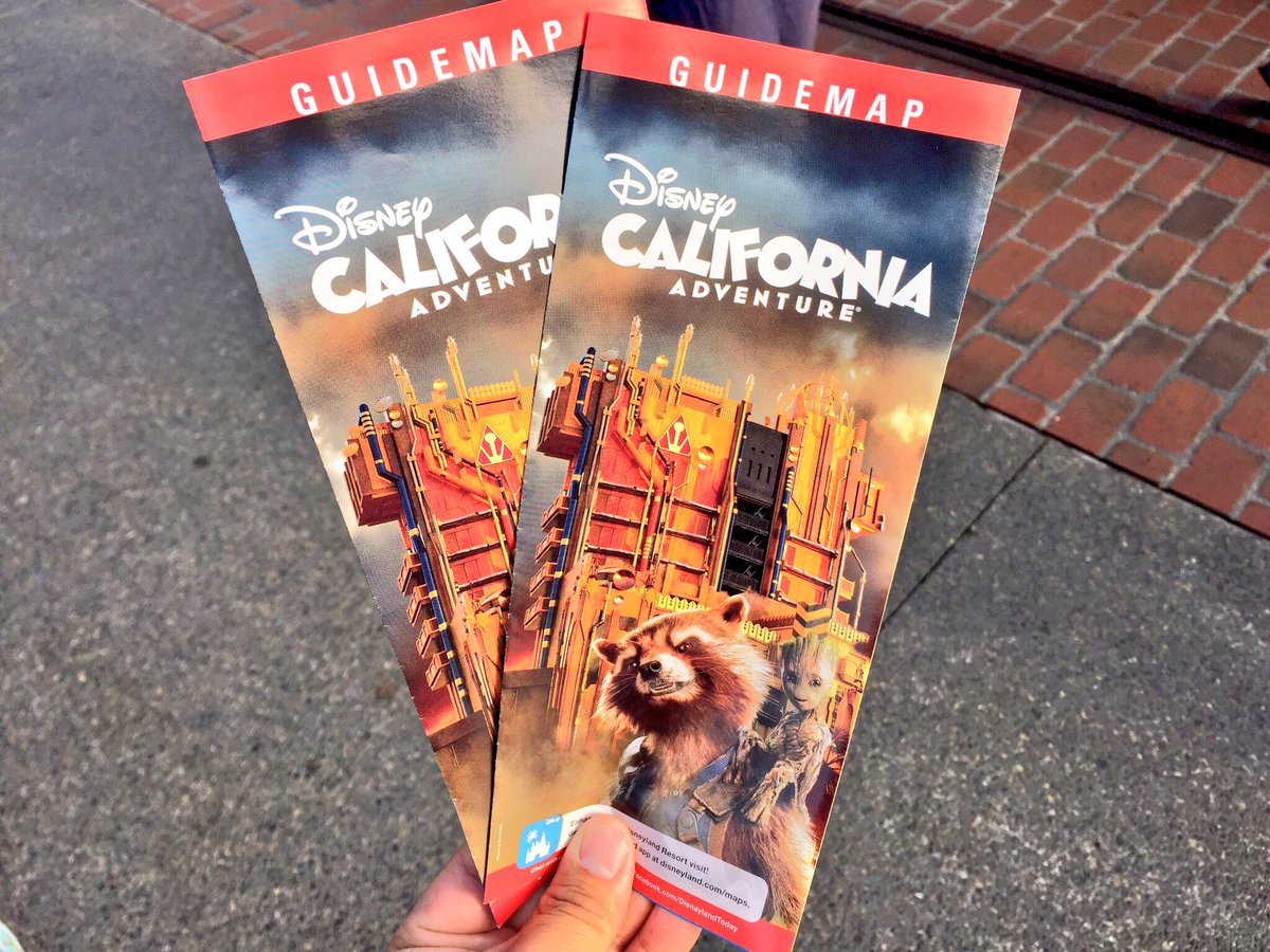 Attractions 360 On Twitter New Disney California Adventure Map
