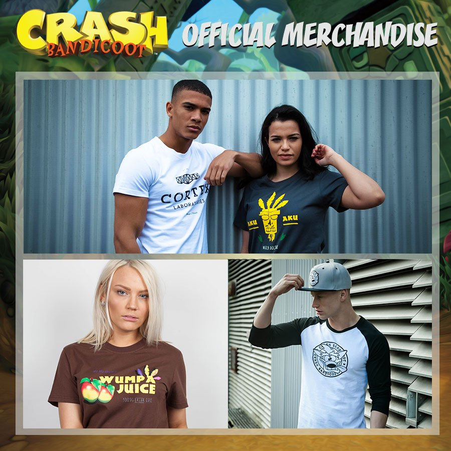 Check out our wumping good and brand range of @CrashBandicoot  clothing,  including a #Crash long sleeve t-shirt!  http:// goo.gl/1d8Aeg  &nbsp;  <br>http://pic.twitter.com/qM4BWjLGYc