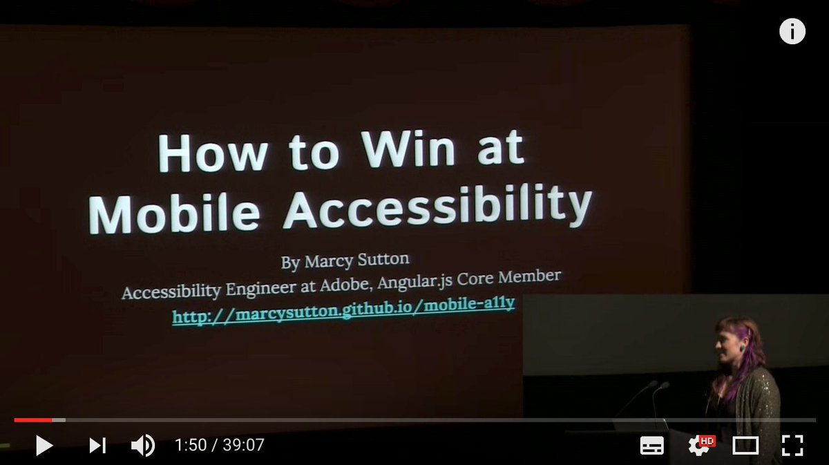 How to win at mobile accessibility with @marcysutton  http:// ow.ly/71C930bXfJy  &nbsp;   #mobile #android #ios #a11y #accessibility#google #apple <br>http://pic.twitter.com/YIQwd0ZOTQ