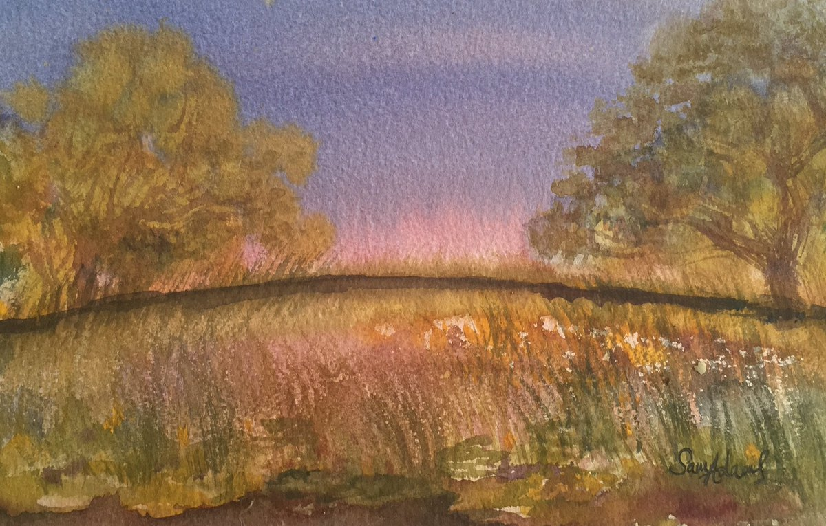 Painting with Anne by @Sampoppy71 via @artfinder #watercolor #painting #art  http:// artf.in/Fcf1YQ  &nbsp;  <br>http://pic.twitter.com/ZIVweQIOOl