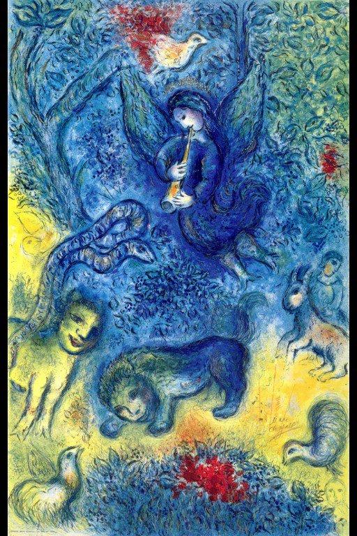 Marc #CHAGALL, &quot;THE MAGIC FLUTE&quot; 1967 #Mozart #art #arttwit #twitart #classical #music #opera #lirica #MagicFlute #DieZauberflöte #followart<br>http://pic.twitter.com/WmFJqmdBQl