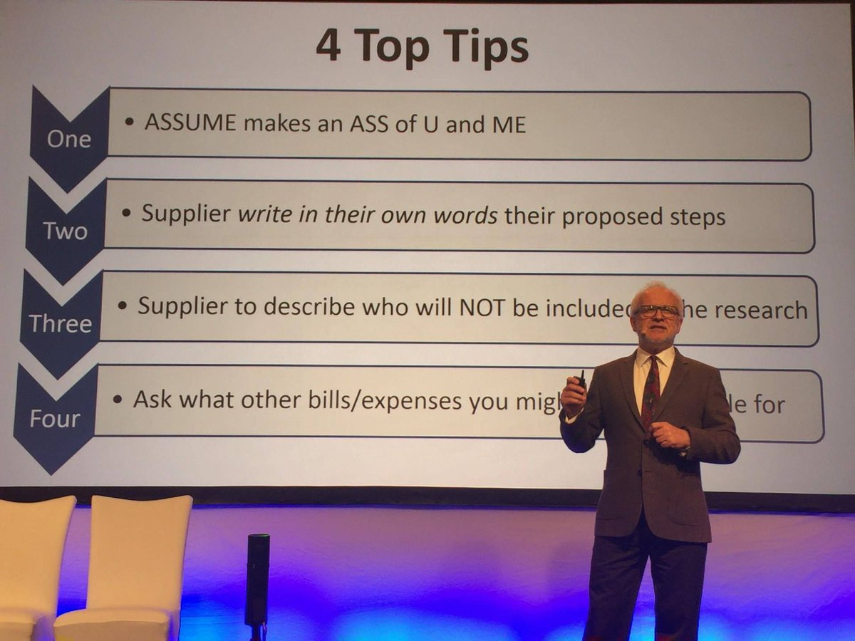 4 top tips when asking suppliers for quotes for fieldwork - from #ESOMAR APAC in Shanghai #NewMR #MRX <br>http://pic.twitter.com/oG93MqOIDj