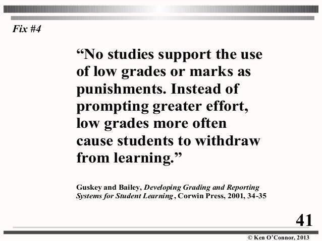 No studies support the use of low grades as a motivator to improve student performance... in fact, it&#39;s the opposite. #edchat #education<br>http://pic.twitter.com/ZzcKtt6xmb