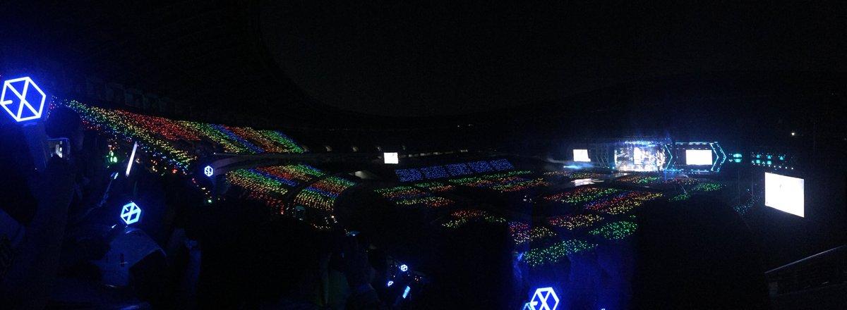Rainbow style HEAVEN HEAVEN #EXOrDIUMdotinSeoul