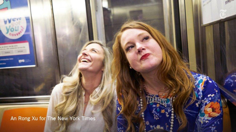 What happens when two etiquette experts take on New York City? https://t.co/D9h2QIBZn0 https://t.co/SfeLLtzliB