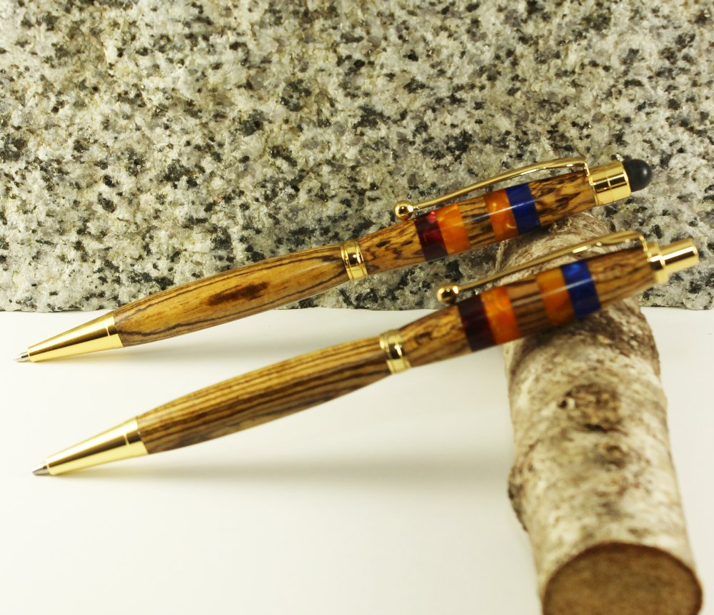 #Handmade #Turned #Pen &amp; #Pencil set at ArmandsAwesomePens on @Etsy #TurnedPens #TurnedPencils #Pens #Pencils  https://www. etsy.com/ca/listing/515 676194/stylus-pen-and-pencil-set &nbsp; … <br>http://pic.twitter.com/tQ05RP9Hze