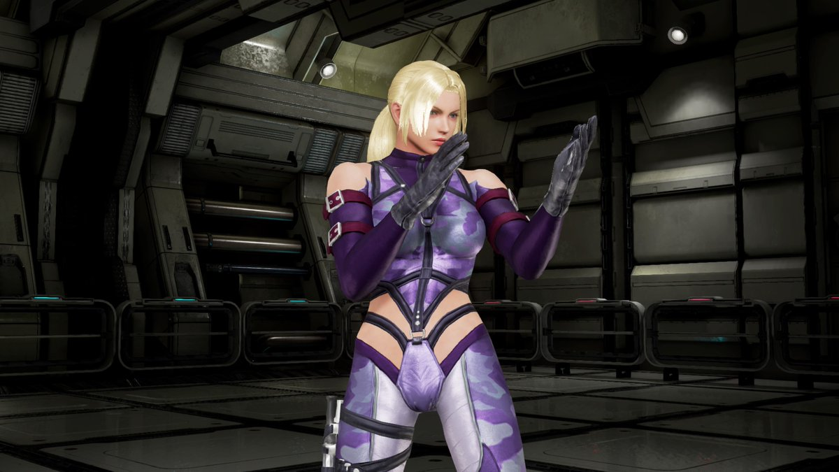 Yellowmotion On Twitter Classic Nina Williams Purple Costume In Tekken7 What S Done Is Done