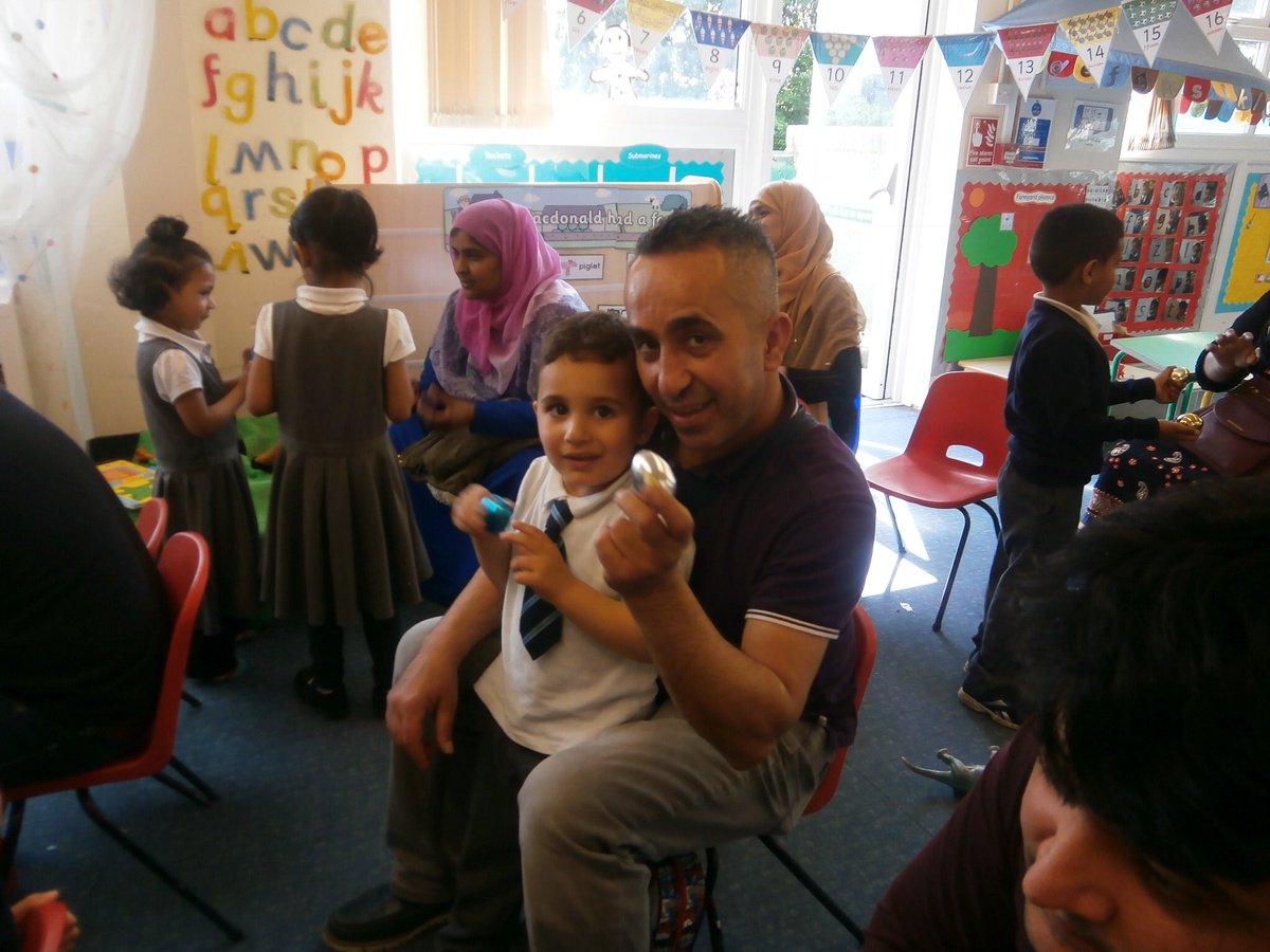 High Hazels Academy On Twitter Our Nursery Families Enjoying The