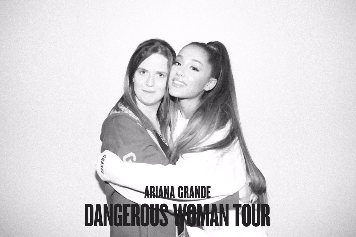 My m&g picture I'm so happy I love you @ArianaGrande thank you for everything #DangerousWomanTour https://t.co/ewP7RIeH4N