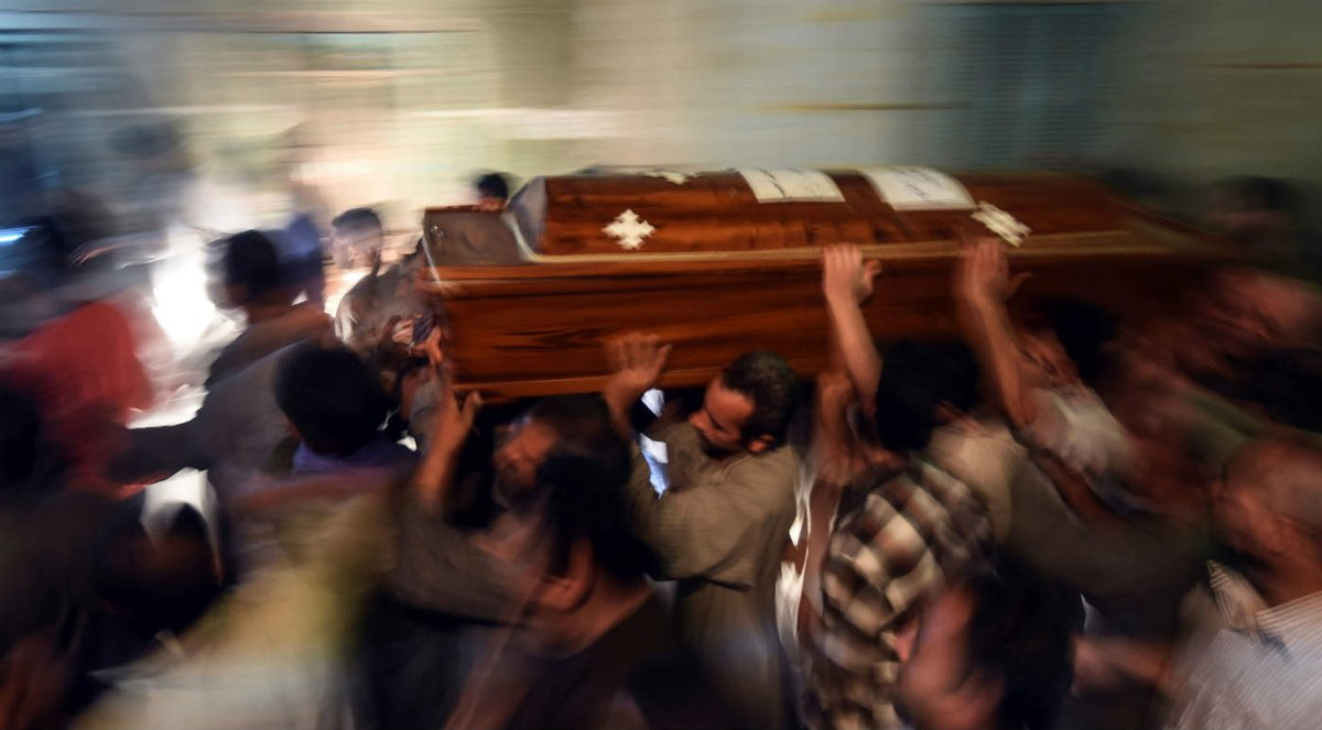 Le groupe terroriste Daesh revendique l'attaque contre les chrétiens en #Egypte https://t.co/n3DUQjgsrd