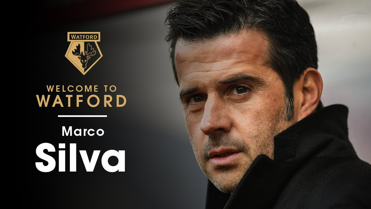 OFFICIAL: #watfordfc is delighted to confirm the appointment of Marco Silva as Head Coach. https://t.co/E90cIca34s