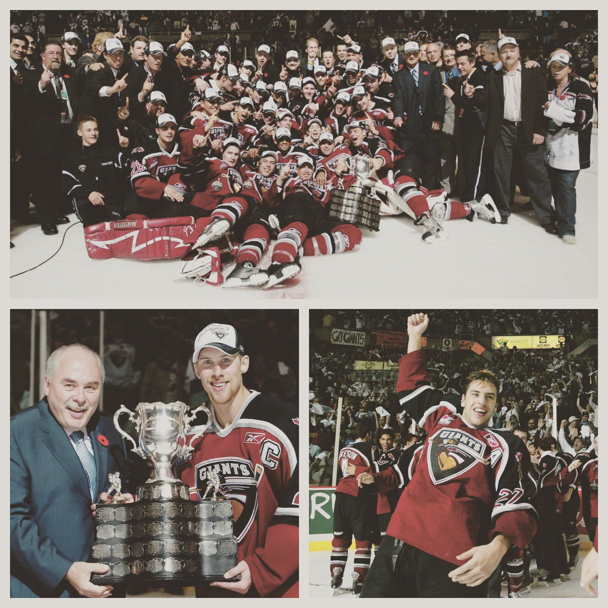 10 years ago today, we reached the top of the mountain! #MemorialCup #...