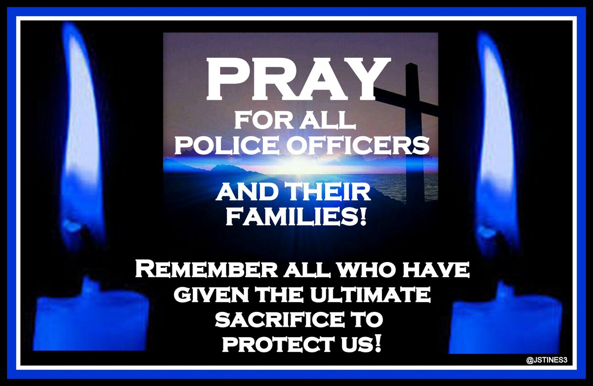 Pray for all POLICE OFFICERS &amp; their families!   #PJNET #BackTheBlue #BlueLivesmatter   <br>http://pic.twitter.com/qbNi9bnWdq