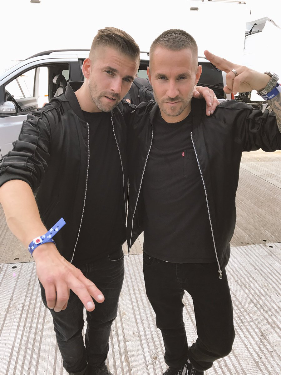 The @wearegalantis boys 🇸🇪...straight off stage at #BigWeekend. They have 60/70 new songs in the can.