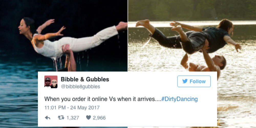 The best tweets about the 'Dirty Dancing' remake 😂😂😂 https://t.co/9Gy9IVupR6 https://t.co/vev9ce5egW