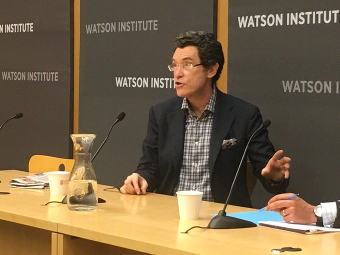 .@NormEisen: Kleptocracy 'goes hand in hand' with attacks on human rights and democratic values.