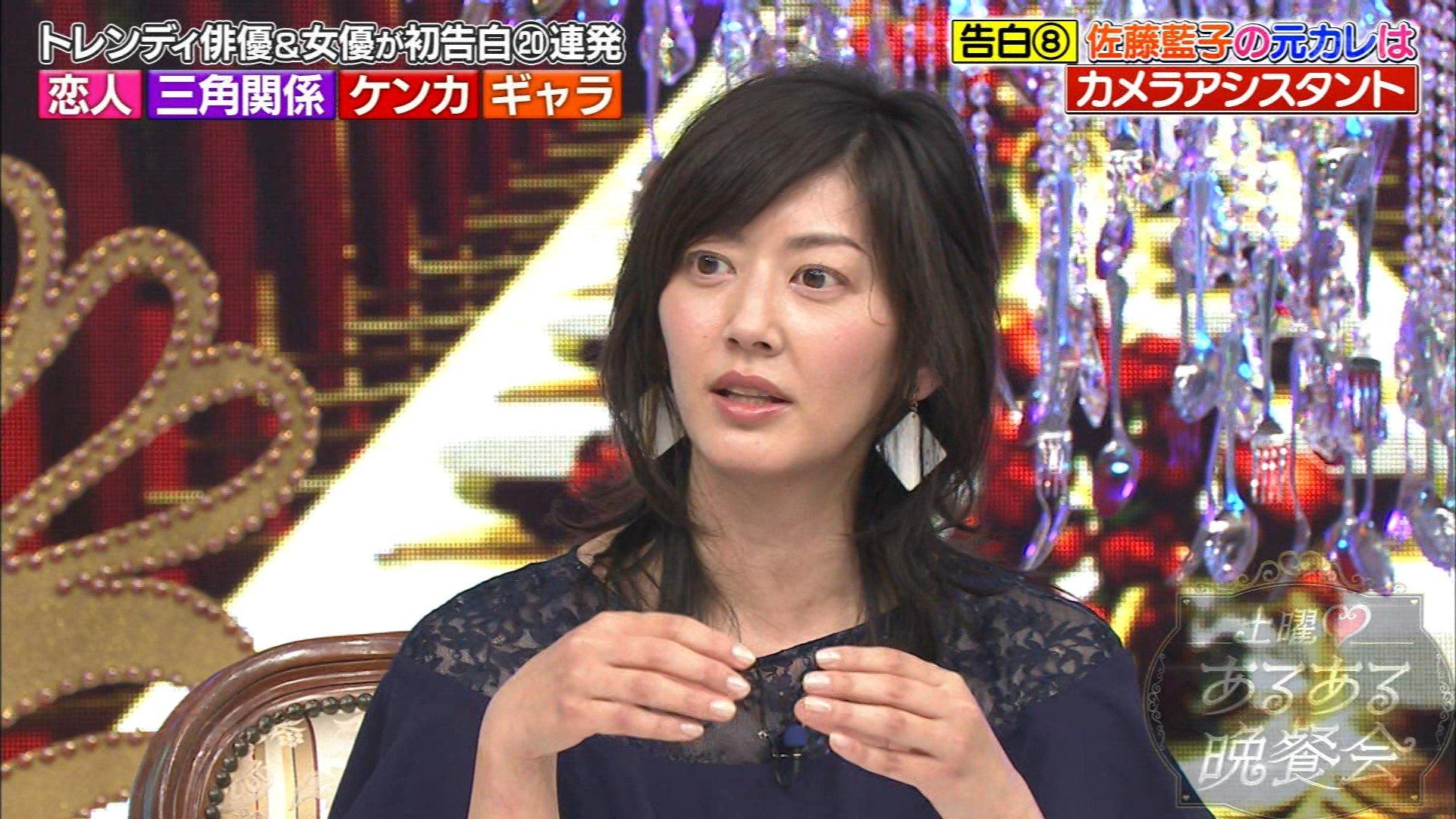 佐藤藍子のロングヘア画像