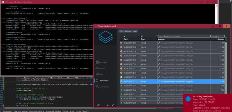 Stratis - $STRAT Mines 1st POS Block in C# https://t.co/p8q7yWXjjo @stratisplatform #Stratis #Blockchain #POS #dotnetcore #pos #proofofstake https://t.co/ZmSfbQ3Lji