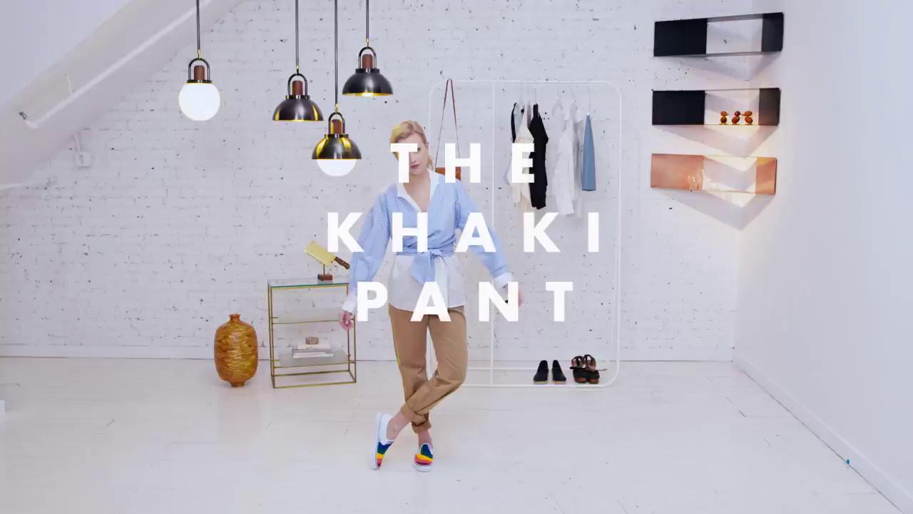 How to make your khaki pants anything but basic: https://t.co/lYR0ZL8wI6