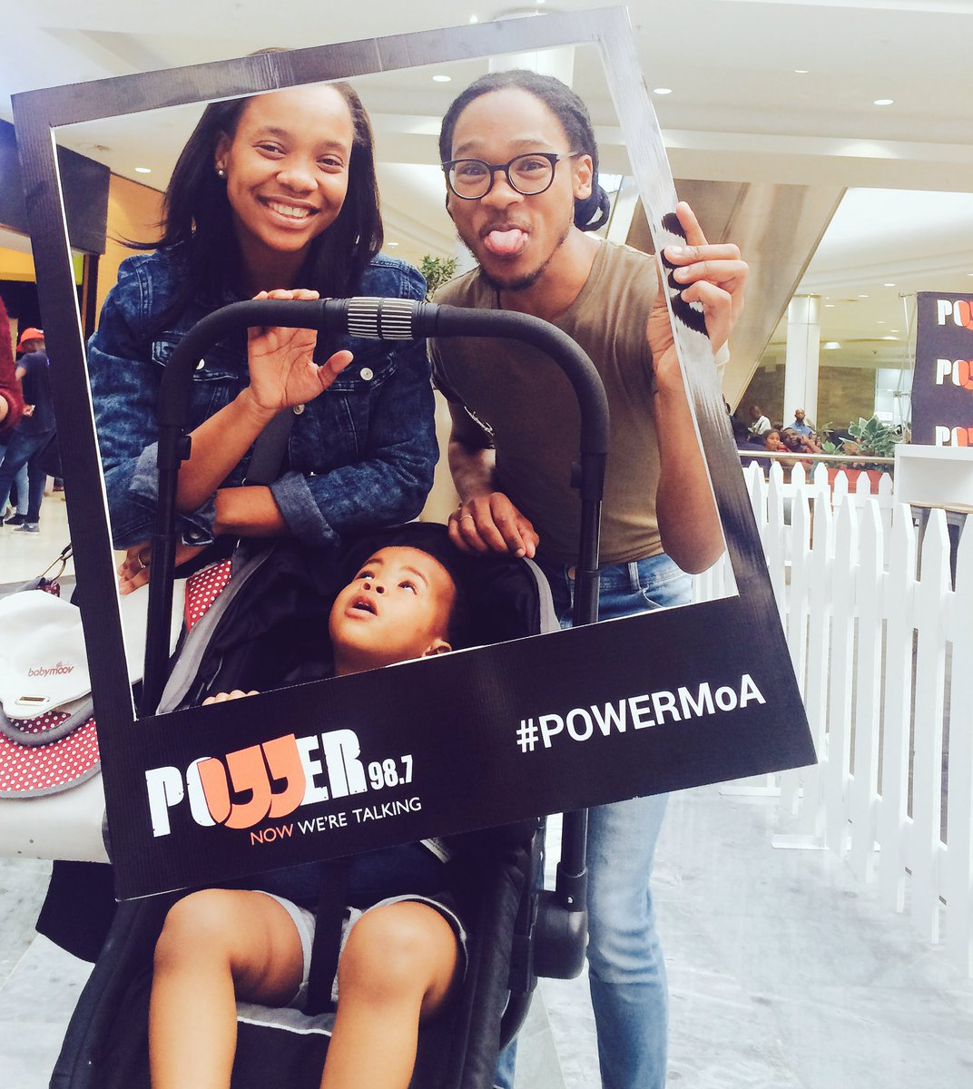 As we&#39;re doing the usual wt @KhanyieDayi at #MallOfAfrica -we bump into the leading innovator in #radio  #broadcasting @Powerfm987 #PowerMoA<br>http://pic.twitter.com/VJh129MUb2