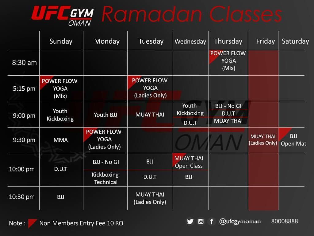 UFC Gym Oman on Twitter: