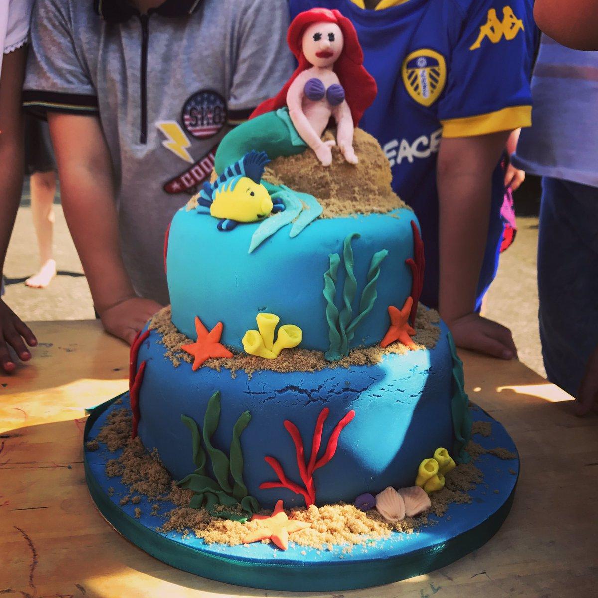Tamal Ray On Twitter Mermaid Birthday Cake Making Those Tiny